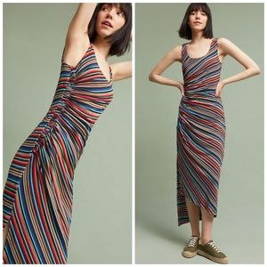 NWT Anthropologie Striped Luca Maxi Dress Bailey